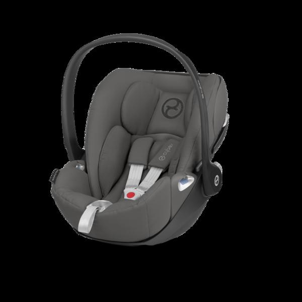 Cybex Cloud Z I-Size Manhattan Grey Bērnu autosēdeklis 0-13 kg