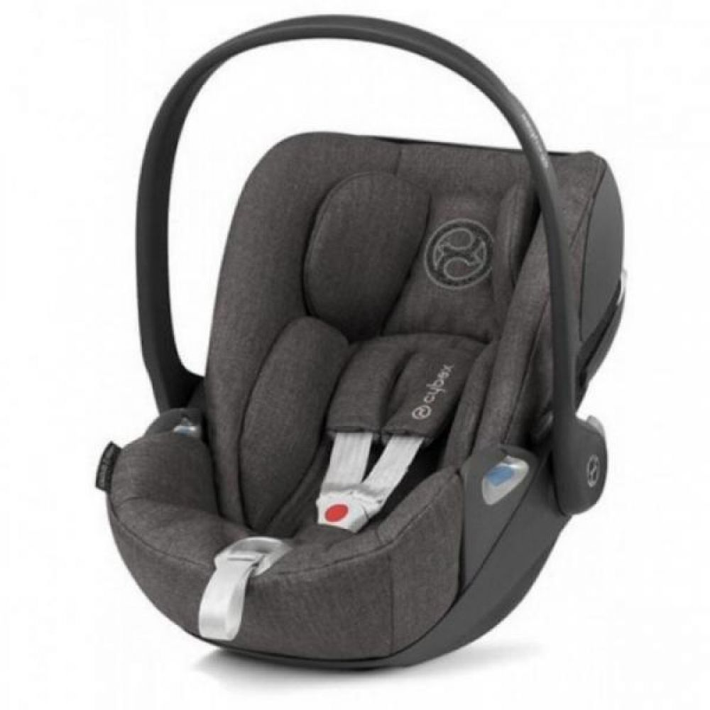 Cybex Cloud Z I-Size Manhattan Grey Plus Bērnu autosēdeklis 0-13 kg