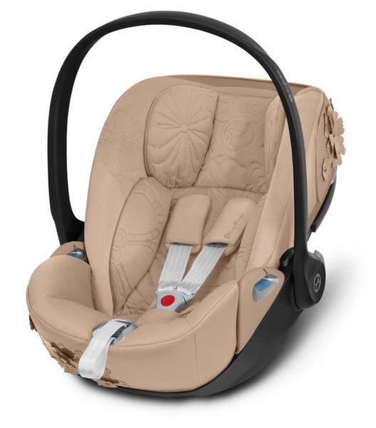 Cybex Cloud Z I-Size Nude Beige Bērnu autosēdeklis 0-13 kg