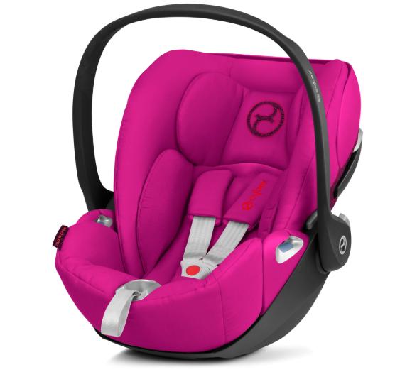 Cybex Cloud Z I-Size Passion Pink Bērnu autosēdeklis 0-13 kg