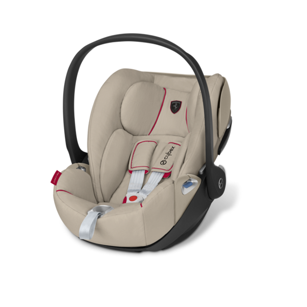 Cybex Cloud Z I-Size Silver Grey - Ferrari Bērnu autosēdeklis 0-13 kg