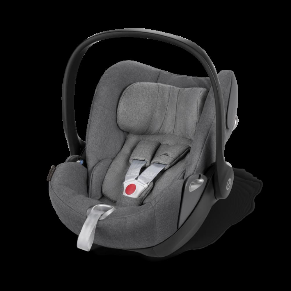Cybex Cloud Z I-Size Soho Grey Bērnu autosēdeklis 0-13 kg