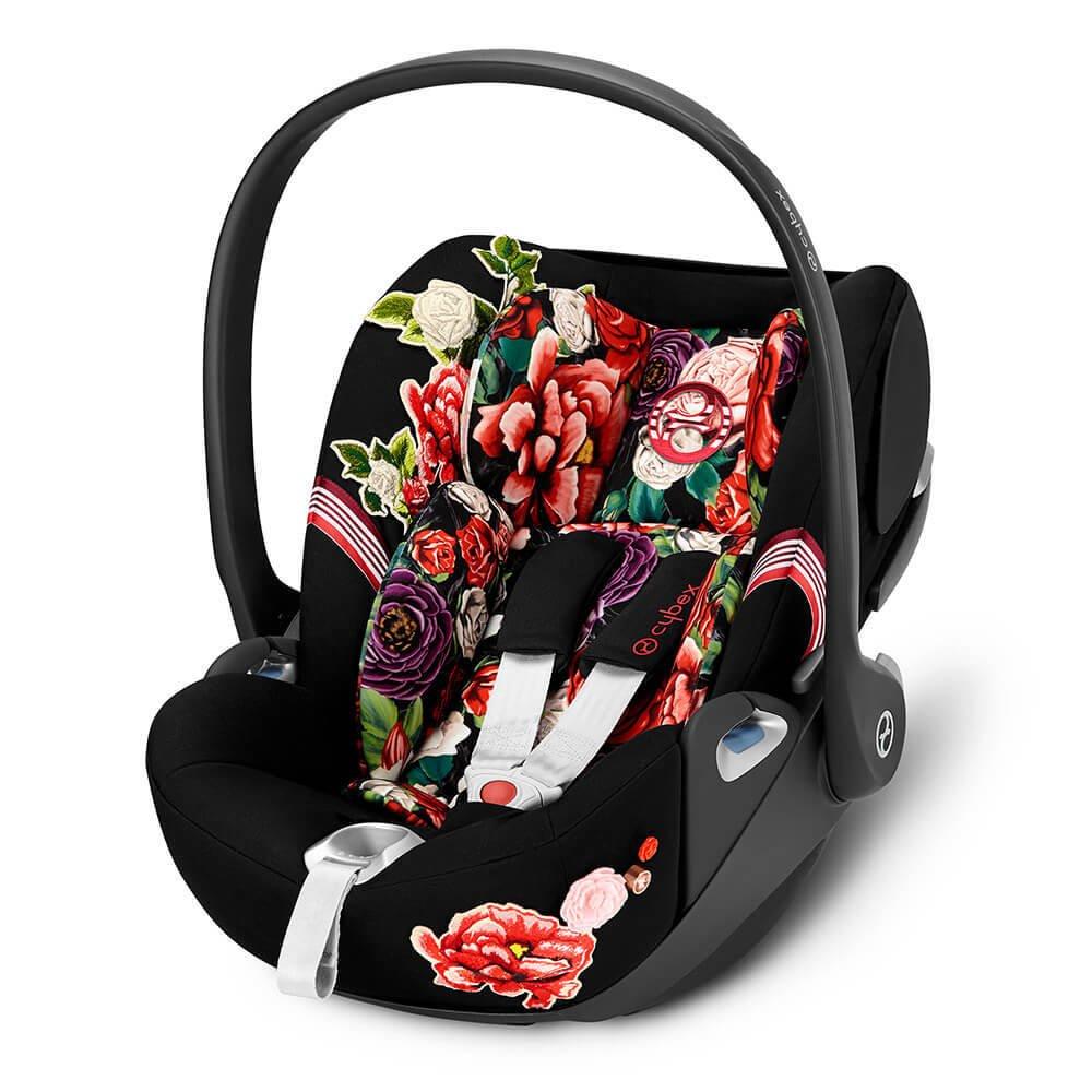 Cybex Cloud Z I-Size Spring Blossom Dark Bērnu autosēdeklis 0-13 kg