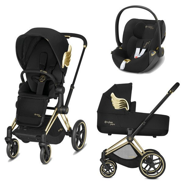 Cybex e-Priam 2.0 + Cloud Z I-size Jeremy Scott Black Bērnu rati 3in1