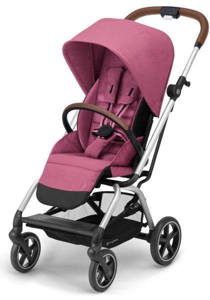 Cybex Eezy S Twist +2 Lux Magnolia Pink Sporta ratiņi