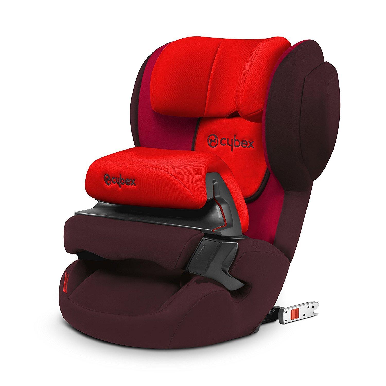 Cybex Juno 2-Fix Rumba Red Bērnu autosēdeklis 9-18 kg