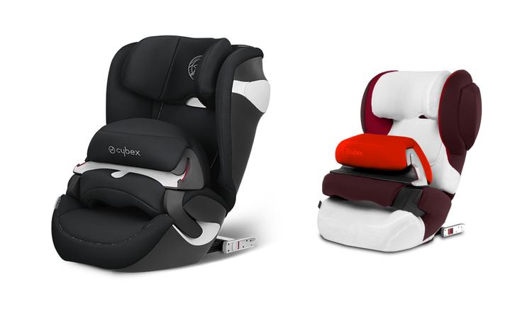 Cybex Juno M-Fix Urban Black Bērnu autosēdeklis ar vasaras pārsegu 9-18 kg