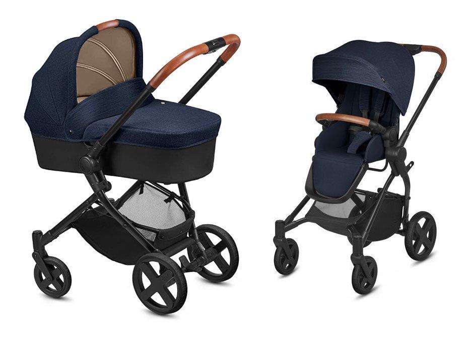 Cybex Kody Pure Lux Jeansy Blue Bērnu rati 2in1