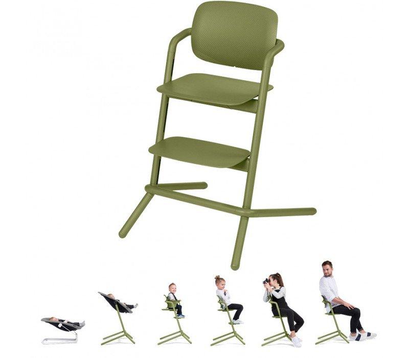 Cybex Lemo Aluminium Outback green Barošanas krēsliņš