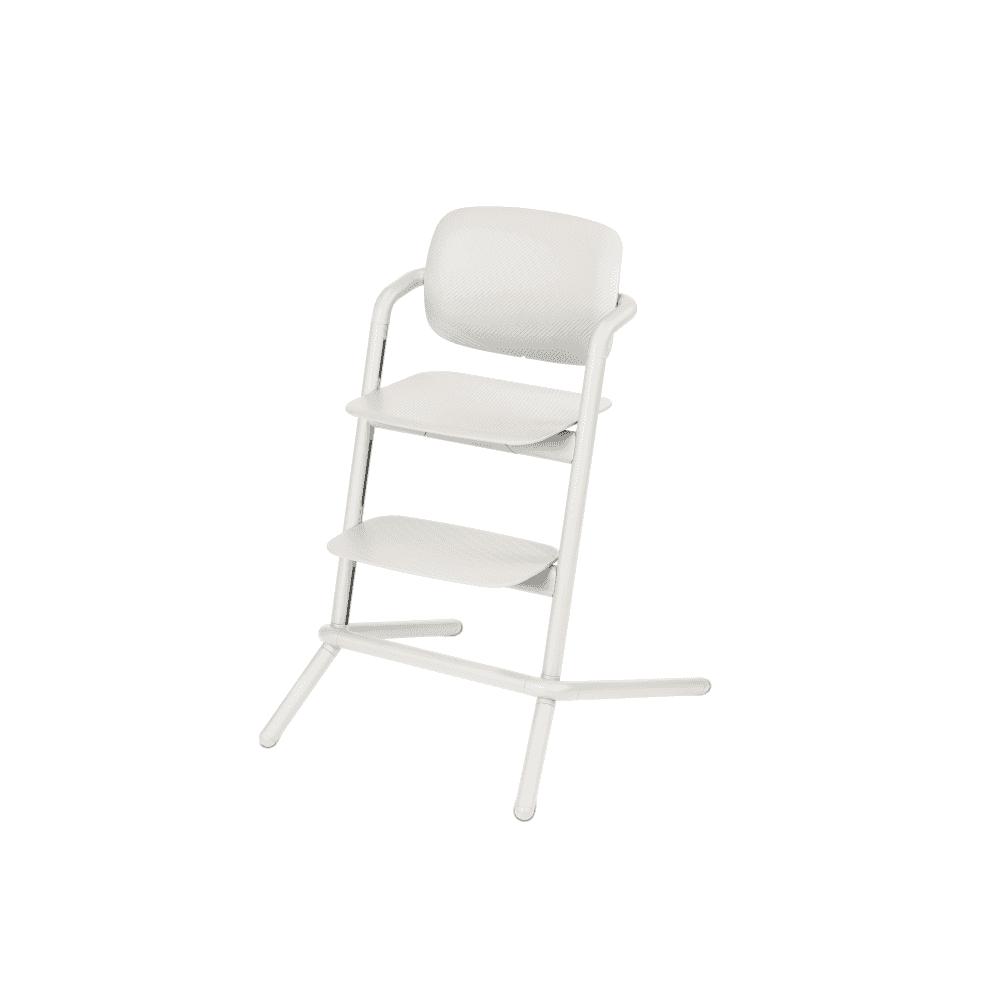 Cybex Lemo Aluminium Porcelaine white Barošanas krēsliņš