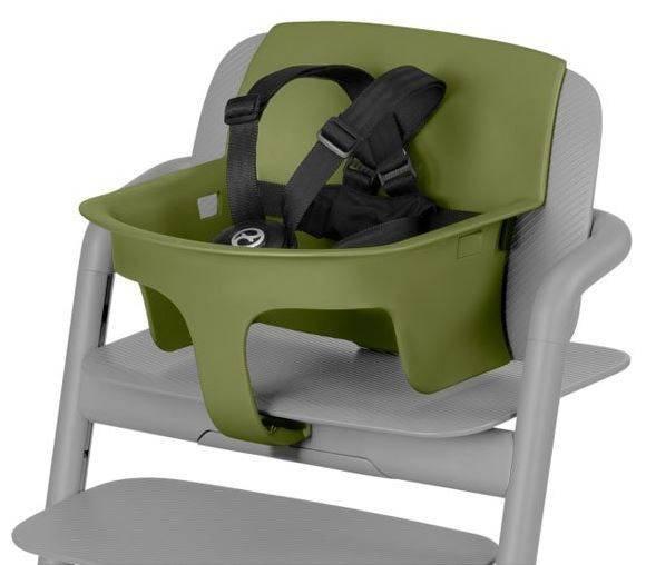 Cybex Lemo Baby Set Outback green Ieliktnis krēslam Cybex Lemo