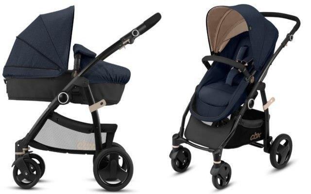 Cybex Leotie Flex Jeansy Blue Bērnu rati 2in1