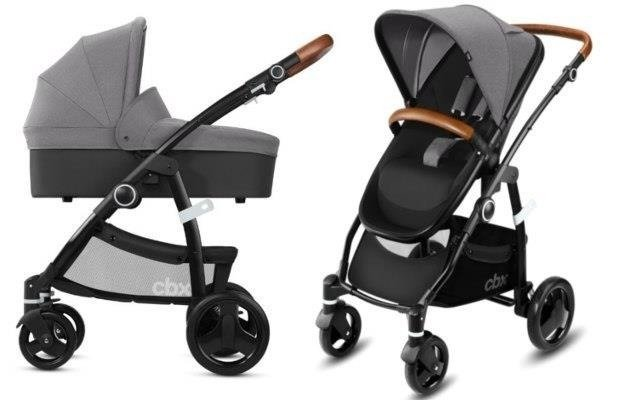 Cybex Leotie Lux Comfy Grey Bērnu rati 2in1