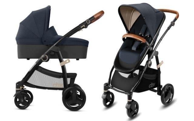 Cybex Leotie Lux Jeansy Blue Bērnu rati 2in1