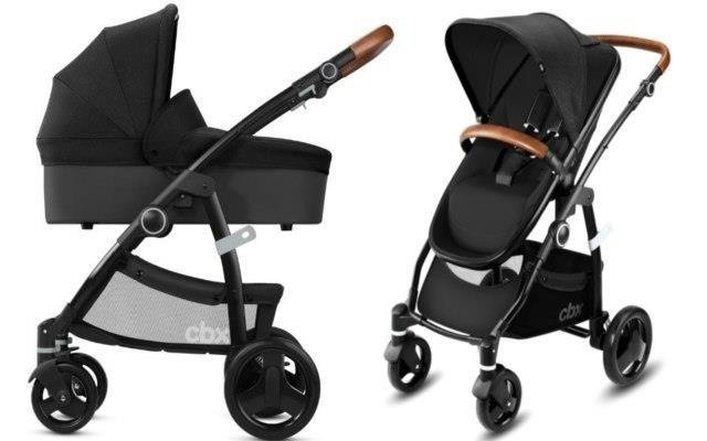 Cybex Leotie Lux Smoky Anthracite Bērnu rati 2in1