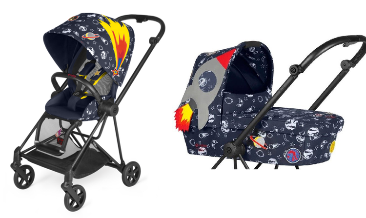 Cybex Mios Fashion Edition Anna K Bērnu rati 2in1
