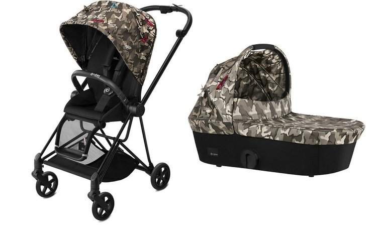 Cybex Mios Fashion Edition Butterfly Bērnu rati 2in1