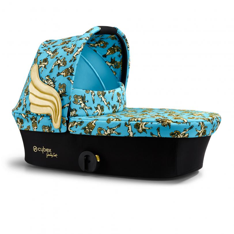 Cybex Mios Fashion Edition Cherub Blue by Jeremy Scott Ratu kulba