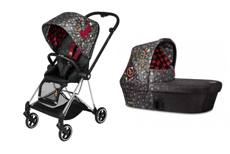 Cybex Mios Fashion Edition Rebellious Bērnu rati 2in1