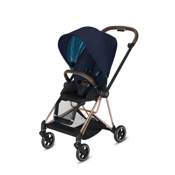 Cybex Mios Midnight Blue Plus + Rose Gold Frame Sporta rati