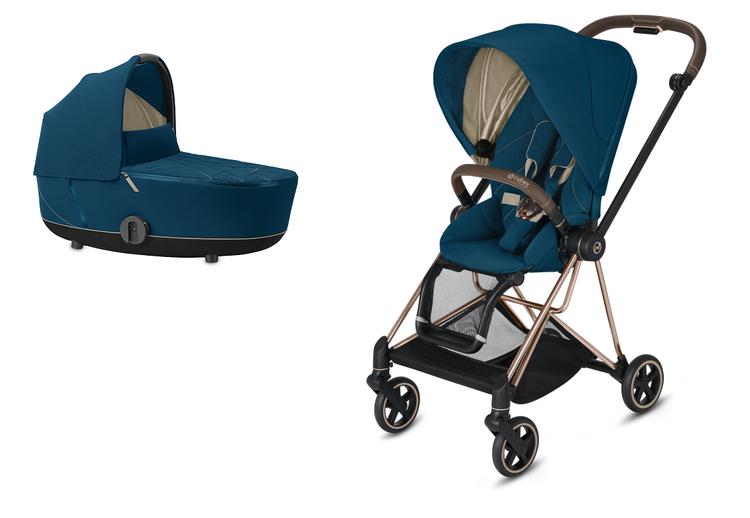 Cybex Mios Mountain Blue Bērnu rati 2in1