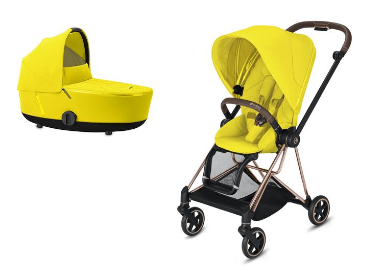 Cybex Mios Mustard Yellow Bērnu rati 2in1