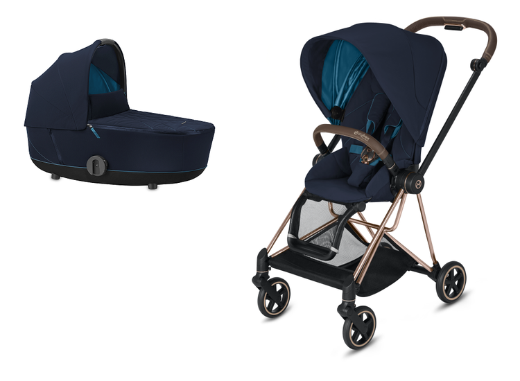 Cybex Mios Nutical Blue Bērnu rati 2in1