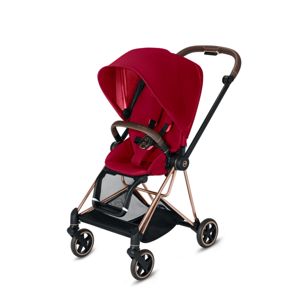 Cybex Mios True Red + Rose Gold Frame Sporta rati
