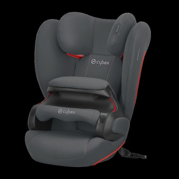 Cybex Pallas B-Fix Steel Grey Bērnu autosēdeklis 9-36 kg