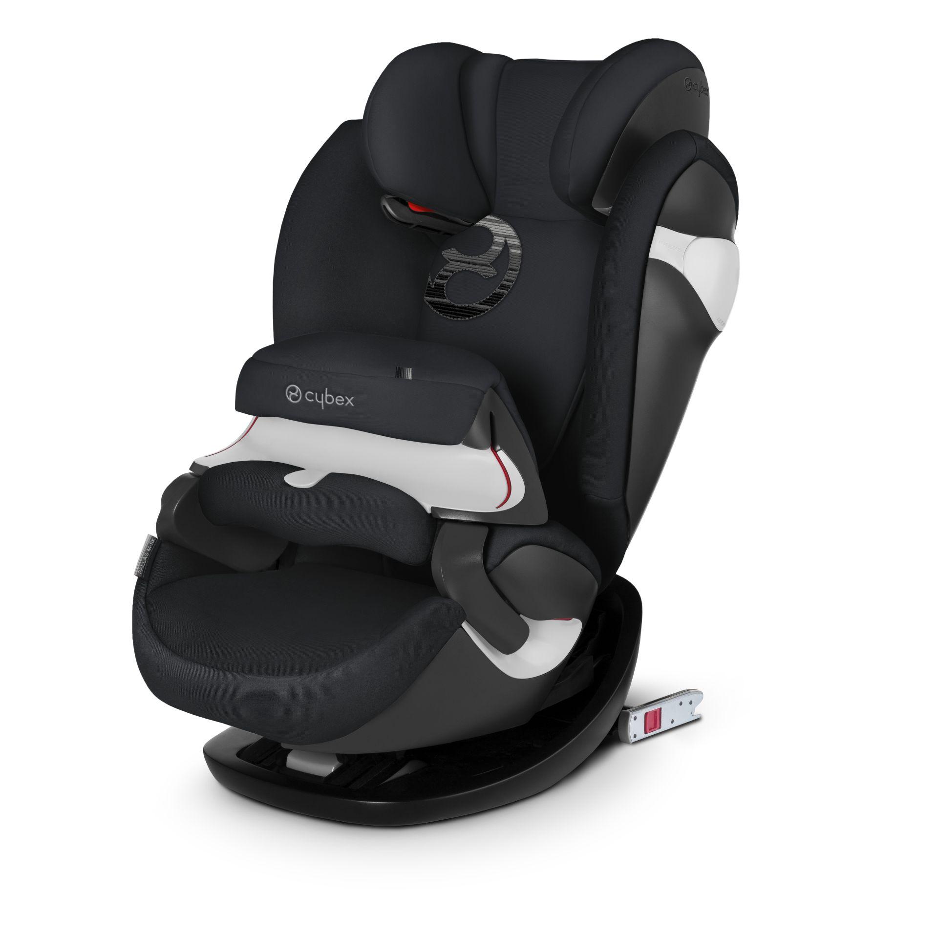 Cybex Pallas M-Fix Lavastone Black Bērnu autosēdeklis 9-36 kg