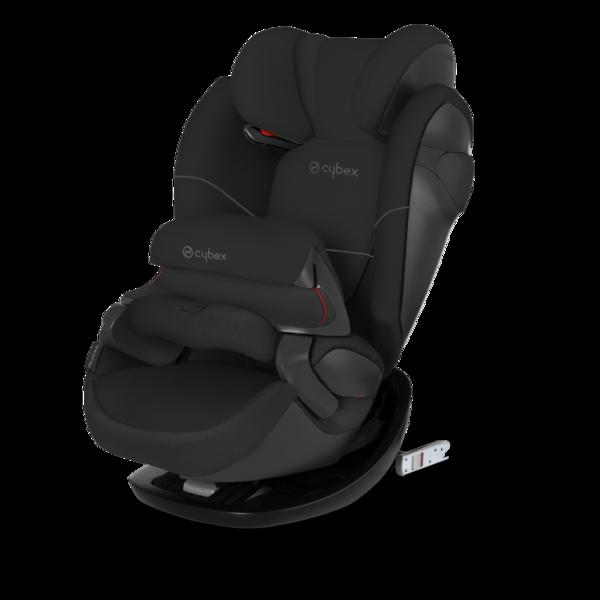 Cybex Pallas M-Fix Pure Black Bērnu autosēdeklis 9-36 kg