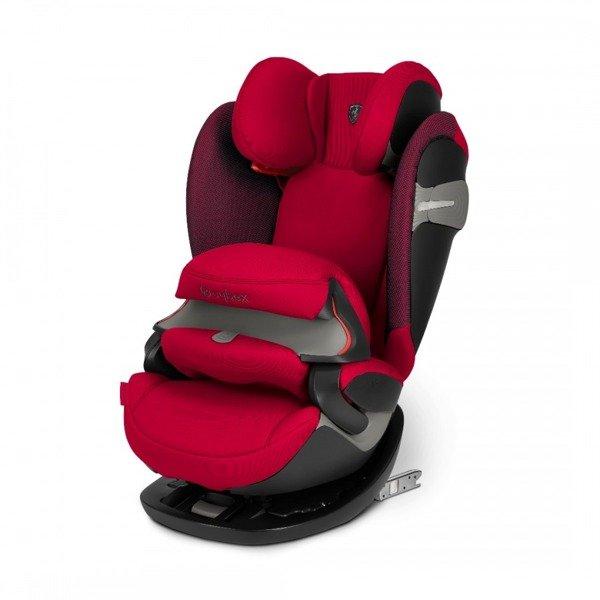 Cybex Pallas S-Fix Racing Red - Ferrari Bērnu autosēdeklis 9-36 kg