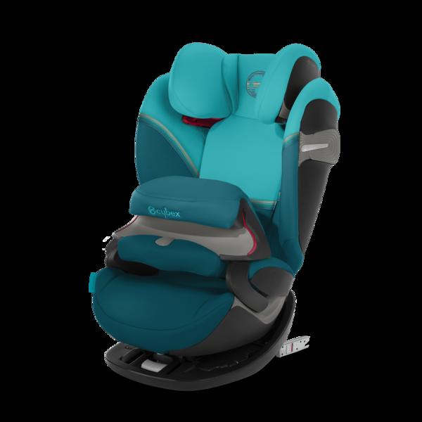 Cybex Pallas S-Fix River Blue Bērnu autosēdeklis 9-36 kg