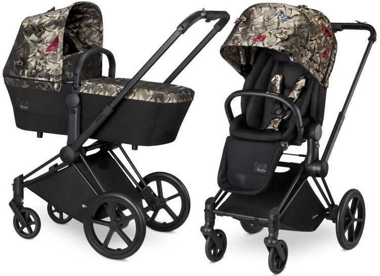 Cybex Priam Butterfly Bērnu rati 2in1