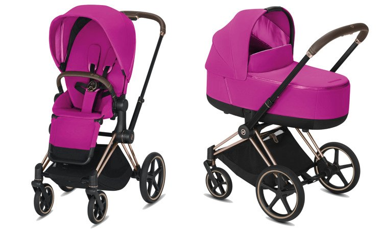 Cybex Priam Fancy Pink Bērnu rati 2in1