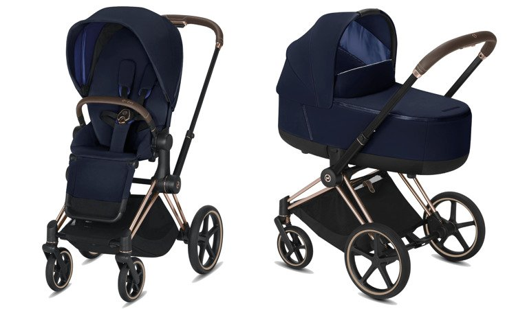 Cybex Priam Indigo Blue Bērnu rati 2in1