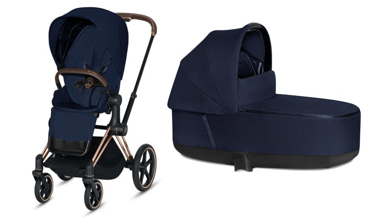Cybex Priam Indigo Blue Plus Bērnu rati 2in1