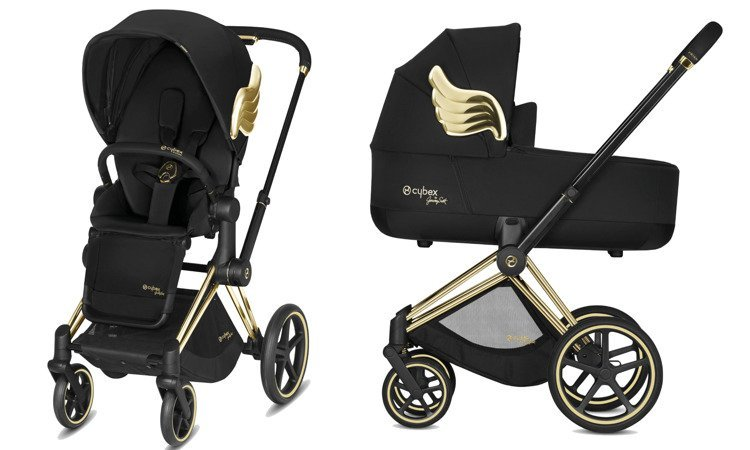 Cybex Priam Jeremy Scott Black Bērnu rati 2in1