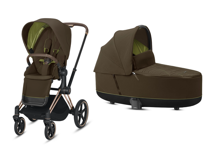 Cybex Priam Khaki Green Bērnu rati 2in1