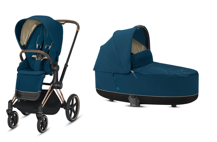 Cybex Priam Mountain Blue Bērnu rati 2in1