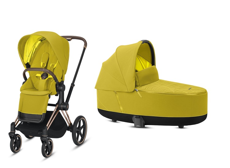 Cybex Priam Mustard Yellow Bērnu rati 2in1