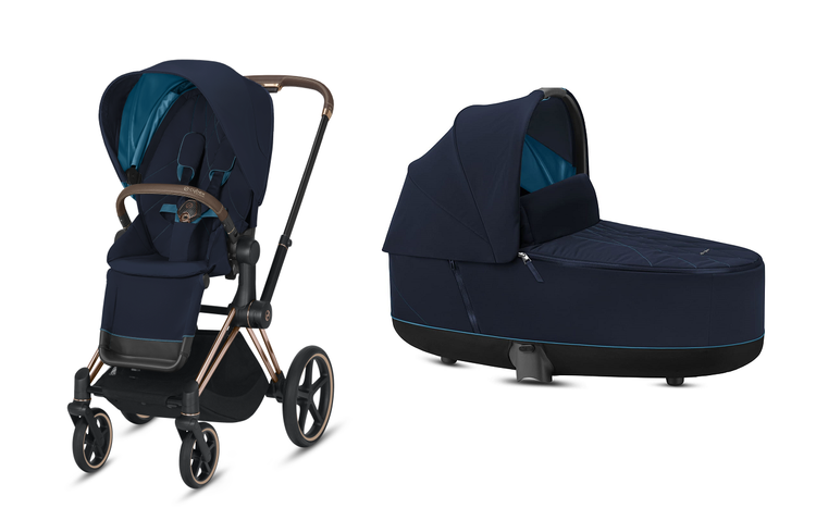 Cybex Priam Nautical Blue Bērnu rati 2in1