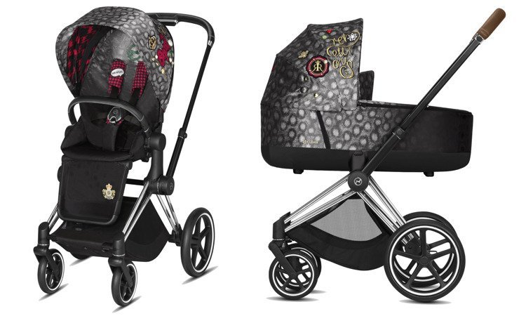 Cybex Priam Rebellious Bērnu rati 2in1