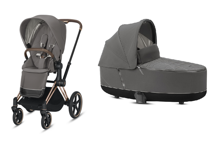Cybex Priam Soho Grey Bērnu rati 2in1