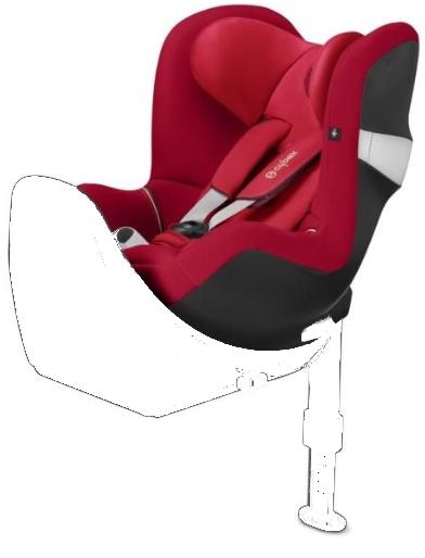 Cybex Sirona M2 I-size Infra Red Bērnu autosēdeklis 0-18 kg