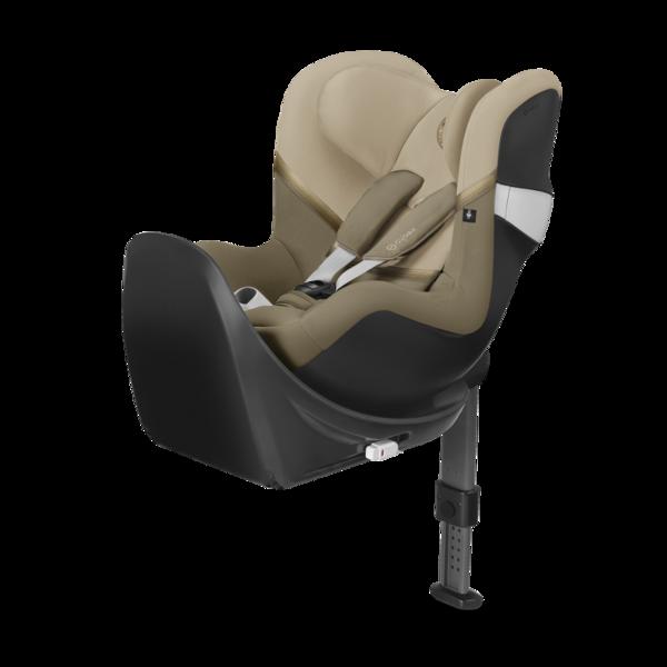 Cybex Sirona M2 I-size + ISOFIX Base M Classic Beige Bērnu autosēdeklis 0-18 kg