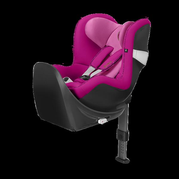 Cybex Sirona M2 I-size + ISOFIX Base M Fancy Pink Bērnu autosēdeklis 0-18 kg