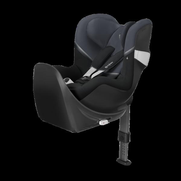 Cybex Sirona M2 I-size + ISOFIX Base M Granite Black Bērnu autosēdeklis 0-18 kg