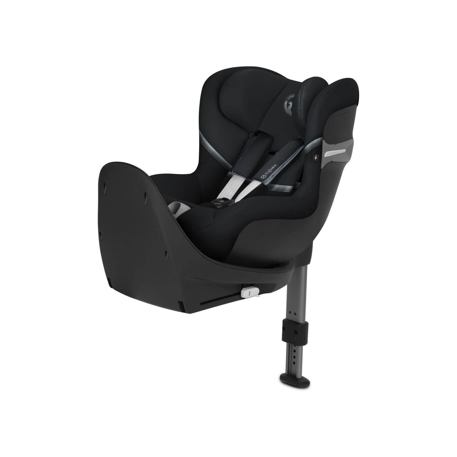 Cybex Sirona M2 I-size + ISOFIX Base M Happy Black Bērnu autosēdeklis 0-18 kg