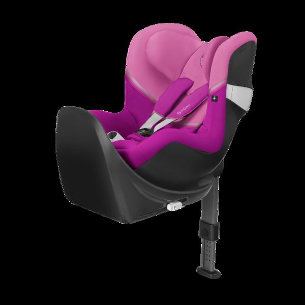 Cybex Sirona M2 I-size + ISOFIX Base M Magnolia Pink Bērnu autosēdeklis 0-18 kg